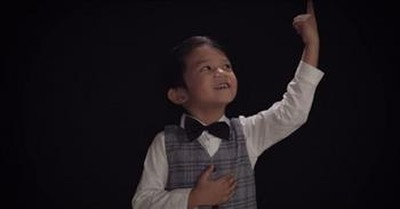 Precious 4-Year-Old Worships With 'No Longer Slaves'