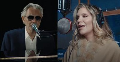 Andrea Bocelli And Alison Krauss Sing 'Amazing Grace' On GMA