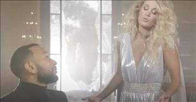 'Hallelujah' Christmas Duet From Carrie Underwood And John Legend