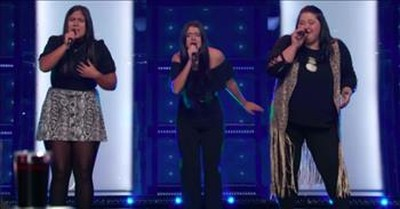 Family Trio Turns All 4 Chairs With Country Song 'When Will I Be Loved'