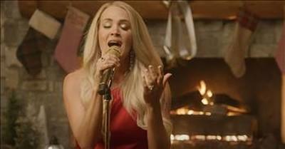 'Sweet Baby Jesus' Carrie Underwood Cracker Barrel Christmas Performance