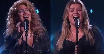 'Silent Night' Duet From Kelly Clarkson And Tori Kelly
