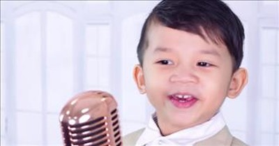 4-Year-Old Sings 'Amazing Grace (My Chains Are Gone)'