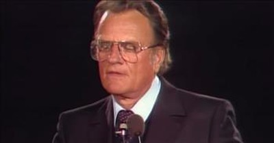 Billy Graham Shares Why He's Still An Optimist In Classic Clip