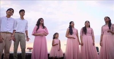Family Of 7 Sings 'You Raise Me Up' By Josh Groban