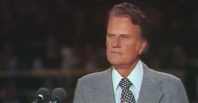 Classic 1973 Billy Graham Sermon On The Future Of Our Country
