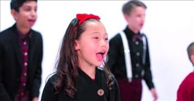 Children's Choir Sings 'The More You Give (The More You'll Have)'