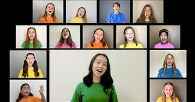 Virtual Children's Choir Sings 'Good Good Father' From Chris Tomlin