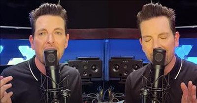 1 Man Uses Dual Voices To Sing 'The Prayer' Duet