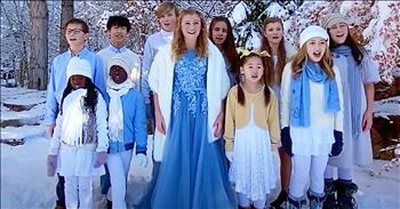 'Where Can I Turn For Peace' Children Sing Beautiful Worship Song