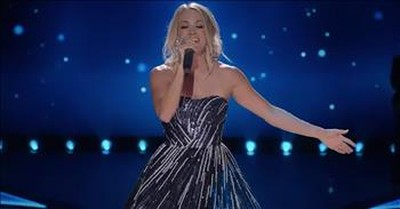'Something In The Water' Carrie Underwood Live Performance