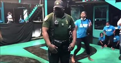 Deputy Starts Epic Dance-Off After Being Called For Noise Complaint