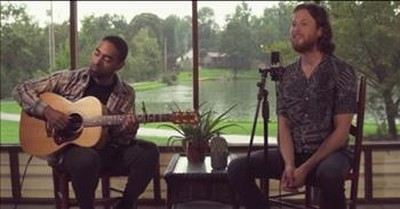 2 Guys Perform 'Danny's Song' In The Rain