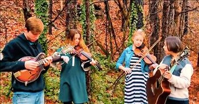 Bluegrass Family Band Performs 'I'll Fly Away'