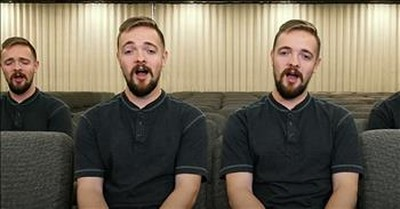 1 Man Performs A Cappella 'Just As I Am' Hymn