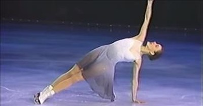 Olympic Figure Skater Katia Gordeeva's Tear-Filled Routine For Late Husband