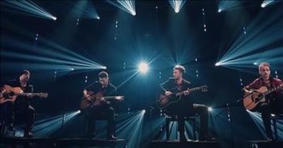 Guitar Quartet Performs 'The Sound Of Silence' Live