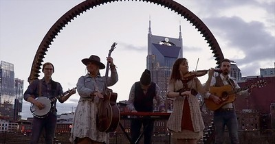 Southern Raised Bluegrass Performs 'Beethovens 9th/Journey On'
