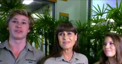 Robert Irwin Recalls 'Incredibly Emotional' Moment Walking Bindi Down The Aisle