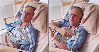 Sweet Moment Daughter Shares Pregnancy News With Dad Battling Alzheimer's