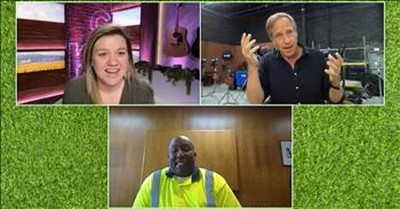 Mike Rowe Shares His Opera Voice On The Kelly Clarkson Show
