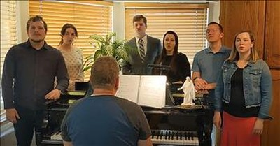 Family Of 7 Sings 'How Great Thou Art' For Easter