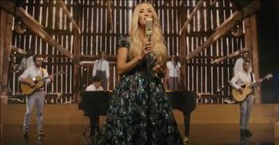 Carrie Underwood Sings 'Victory In Jesus' Easter Hymn