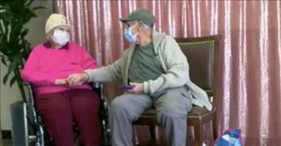 Couple Married For 72 Years Reunite After Over A Year Apart During COVID