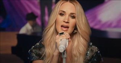 'Just As I Am' Carrie Underwood Performs Classic Hymn On Today Show