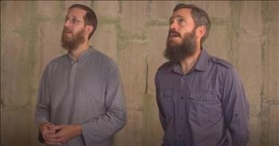 2 Men Sing 'Holy, Holy, Holy' In Empty Silo