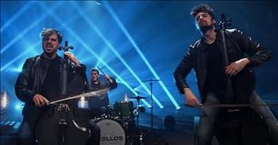 Men Of 2CELLOS Perform 'Livin' On A Prayer'