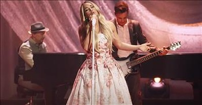 'Nothing But The Blood Of Jesus' Carrie Underwood Live Performance