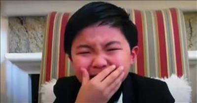 8-Year-Old Alan Kim Cries Tears Of Joy During Critic's Choice Speech