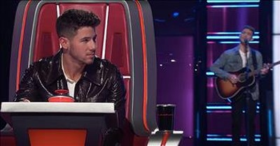 Country Crooner Turns All 4 Chairs With Tim McGraw's 'If You're Reading This'