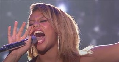 American Idol's Alyssa Wray Brings The Chills With Whitney Houston Classic