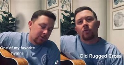 "Scotty McCreery Performs ""The Old Rugged Cross"""