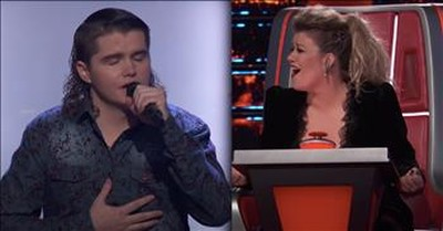 Country Singer Earns Rare Four-Chair Turn With 'Don't Close Your Eyes'
