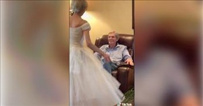 60 Years Later, Grandma Still Stuns Husband In Her Wedding Dress