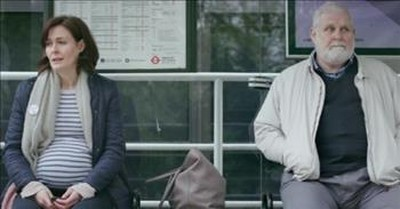 2 People At A Bus Stop Strike Up A Conversation, And It Leads To Tears