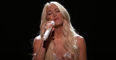 Carrie Underwood Performs Gospel Medley At 56th ACM Awards