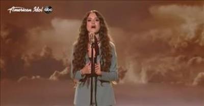 Teen Casey Bishop Sings Unique Rendition Of 'Over The Rainbow'