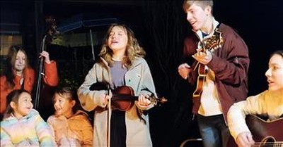 Cotton Pickin' Kids Sing 'There Is A Time' Around The Campfire