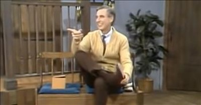 Mister Rogers Gets Pranked By His Crew And He Has The Best Reaction