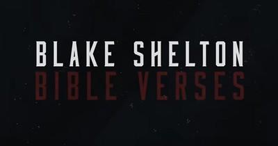 'Bible Verses' Blake Shelton Official Lyric Video