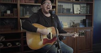 'Hallelujah For The Cross' Chris McClarney Acoustic Performance