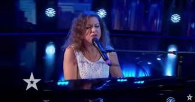 Piano Singer On Romania's Got Talent Earns Golden Buzzer With Moving Audition
