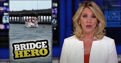 Good Samaritan Jumps Off Bridge To Save 18-Month-Old Ejected After Car Crash