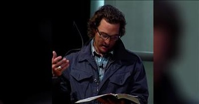 Actor Matthew McConaughey Reads Scripture From The Bible