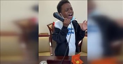 9-Year-Old Serenades Elementary School With National Anthem Over PA System