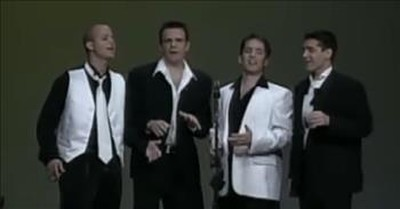 Barbershop Quartet Performs Frank Sinatra Classic 'Come Fly With Me'